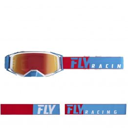 Маска Fly Racing Zone Pro Blue Chrome